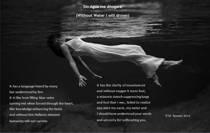 Sin Agua Poem