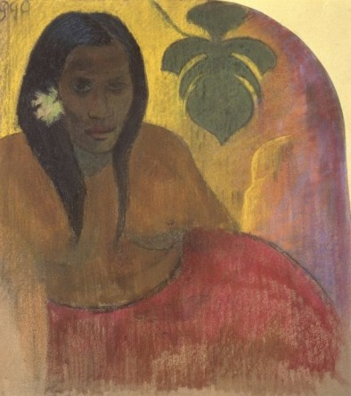 Tahitian Woman. Gaugin.