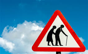 Stop Elderly People Crossing
