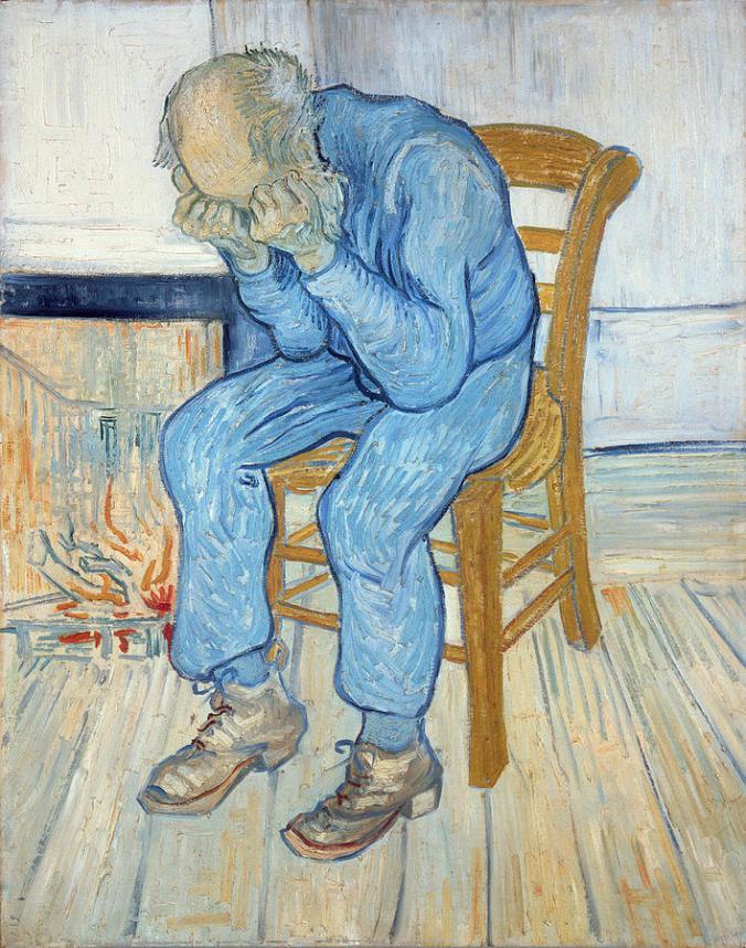 Old Man In Sorrow. Van Gogh